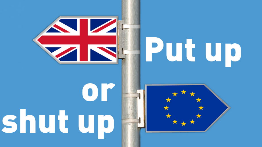 brexit put up or shut up